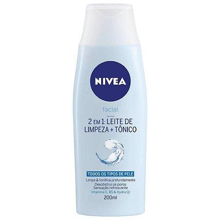 Leite de Limpeza + Tônico 2 em 1 - Nivea