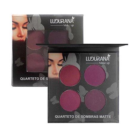 Quarteto de Sombras Matte 04 - Ludurana
