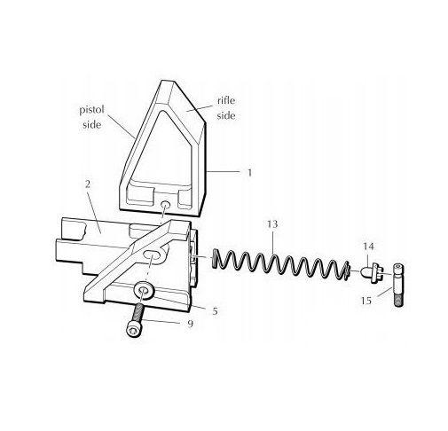 Dillon XL650 Plataform Parts Slide Cam 97082