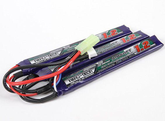 Bateria Turnigy Nano-tech 1200mah 3s 25/50c Lipo 11.1v - Aeg