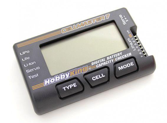 Cellmeter-7 Bateria Checker Tester Lipo Life Li-ion Nimh Nic