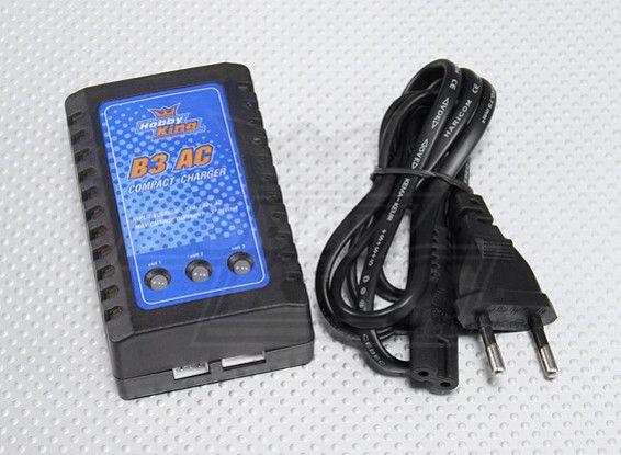 Carregador HobbyKing B3 Bateria 2s 3s Aero E Airsoft