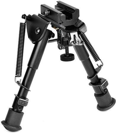 Bipe Retrátil Ajustável com Trilho de 20 mm
