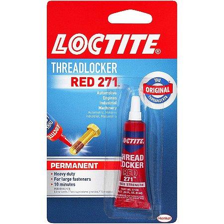 Loctite 271 Trava Rosca Alta Resistência 6 ml