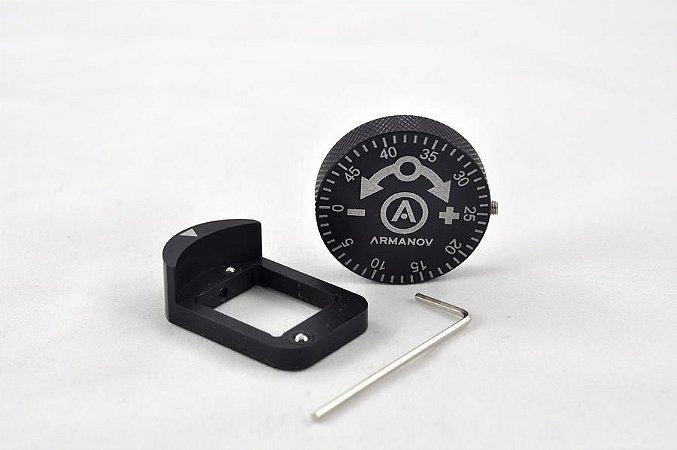 Armanov Dosador de Polvorimetro Knob Dillon LARGE