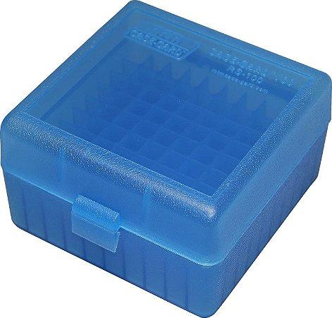 MTM Caixa Munição Rifel 100 un 17, 204, 223, 5.56x45, 6x47