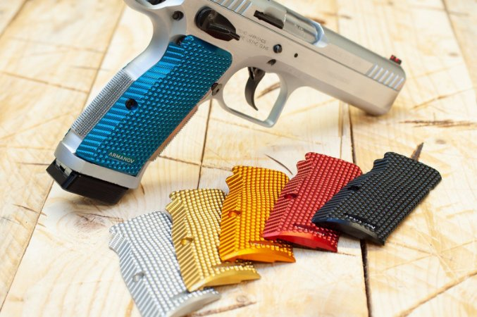 Armanov SpidErgo Pistol Grips Tanfoglio Small Frame