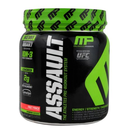 ASSAULT  -Muscle Pharm 435g