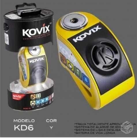Trava de Disco KD6SS com Alarme - Kovix