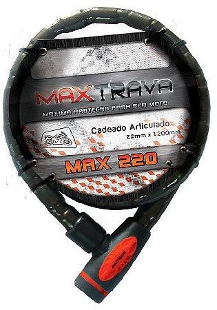 Trava articulada 22 x 1200mm FUME MAX220 - MAXTRAVA
