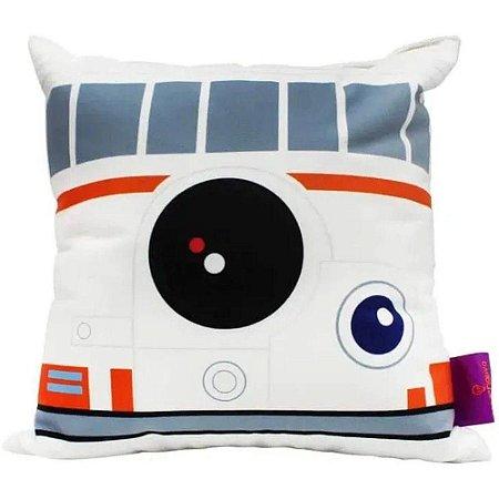 Almofada BB-8 Star Wars - 25x25cm - Zona Criativa