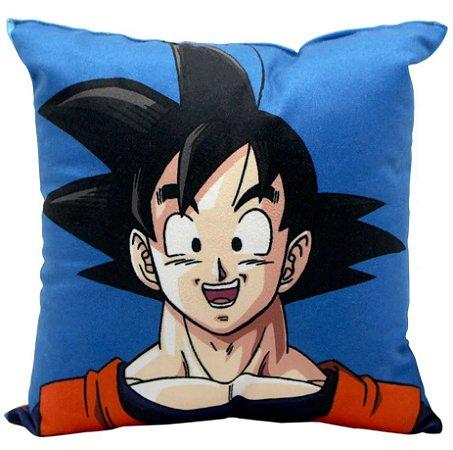 Almofada Goku - Dragon Ball Z - 25x25cm - Zona Criativa
