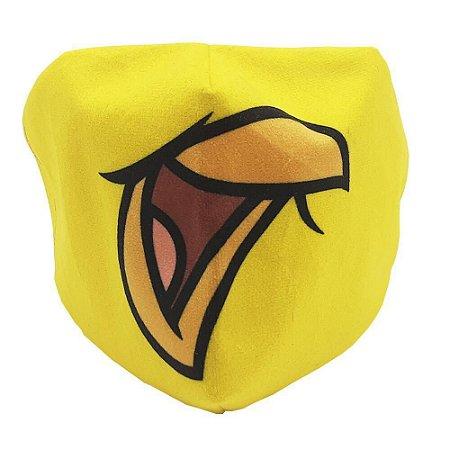 Máscara de Proteção - Piu Piu - Veludo - Zona Criativa