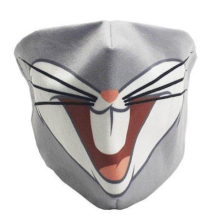 Máscara de Proteção - Pernalonga - Veludo - Zona Criativa