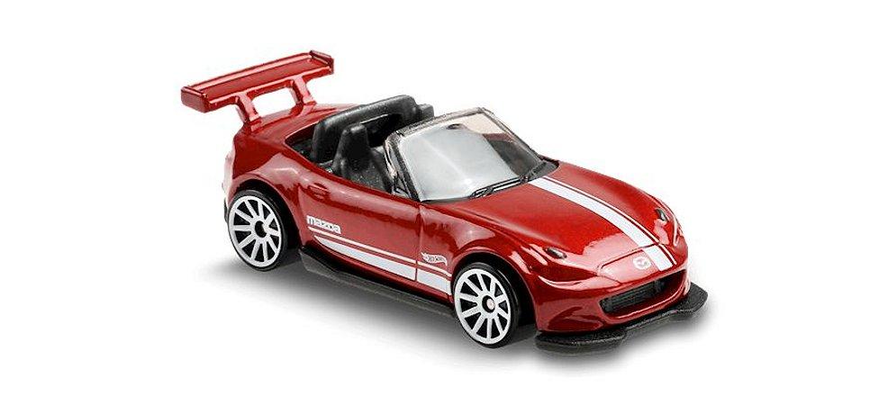 '15 Mazda MX-5 Miata - 1/64 - #129 - Hot Wheels - Mattel