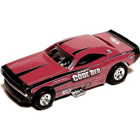 '70 Dodge Challenger F/C - Code Red - Demons - Hot Wheels