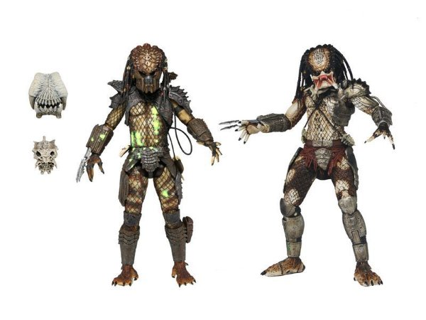Predator Battle Damaged City Hunter & Jungle Hunter - Pack 2