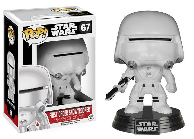 Star Wars VII - First Order Snowtrooper - Pop Funko - Vinyl