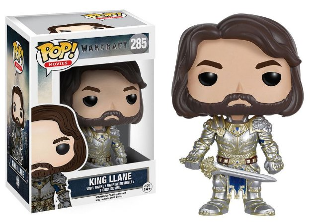Warcraft - King Llane - Pop Movies - Funko Vinyl