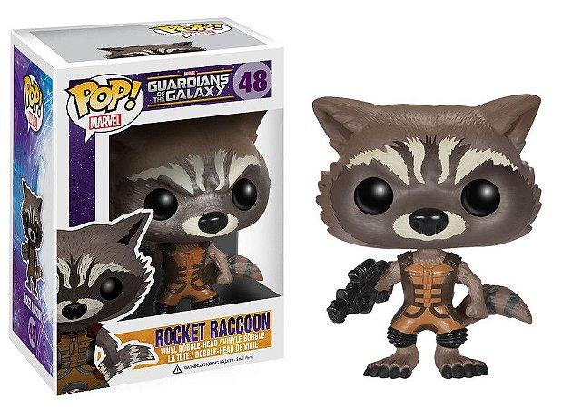Guardians of the Galaxy - ROCKET RACCOON - Pop Marvel - Funko Vinyl