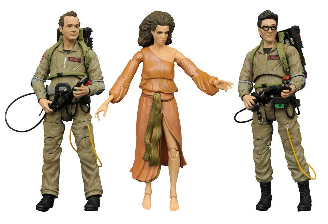 Ghostbusters - Peter Venkman - Egon Spengler - Dana Barrett - Diamond Select Toys