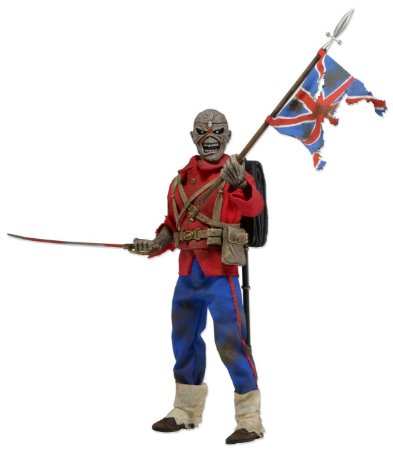Iron Maiden - Trooper Eddie - Clothed Figure - Neca