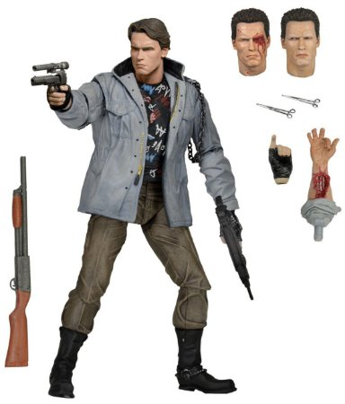 T-800 Terminator Ultimate Tech Noir - The Terminator 1984 - Neca