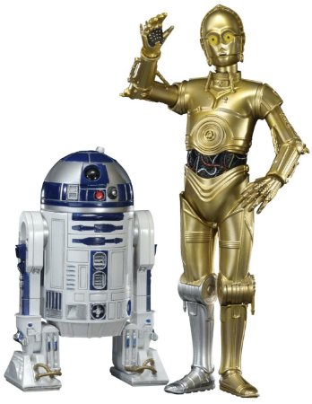 Star Wars R2-D2 and C-3PO - ArtFX+ Statue - Kotobukiya