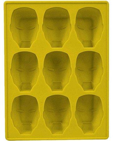 Iron Man (Homen de Ferro) - Silicone Tray (Forma de Silicone)