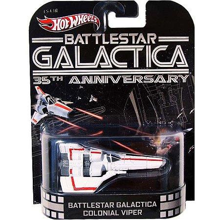 Entretenimento Retro - Battlestar Galactica 35th Anniversary - Battlestar Galactica Colonial Viper - 1/64