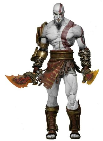 Ultimate Kratos - God Of War 3	 Ghost Of Sparta - Neca