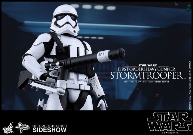 Star Wars First Order Stormtrooper Heavy Gunner - Sixth Scale Collective Figure