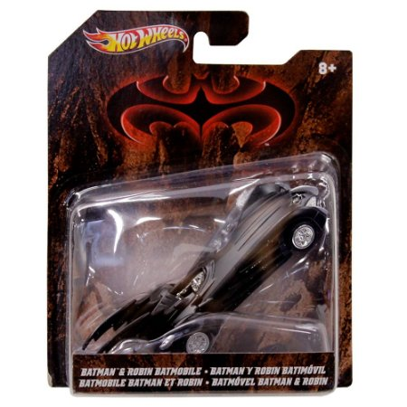 Batman & Robin Batmobile - X4035 - Hot Wheels - Mattel
