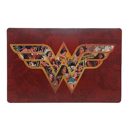 Lugar Americano de Plástico WB WW Core Colorido 46,5 x 28,5 cm - Mulher Maravilha - Urban