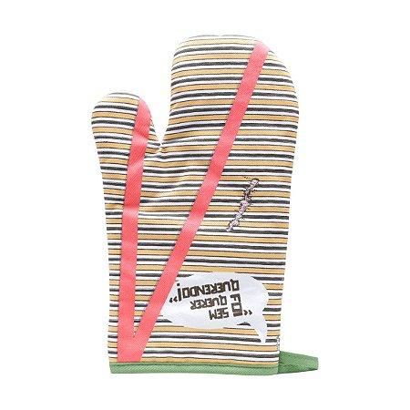Luva Térmica de Algodão CVS Chaves Shirt Colorido - 18 x 3 x 29 cm - Chaves
