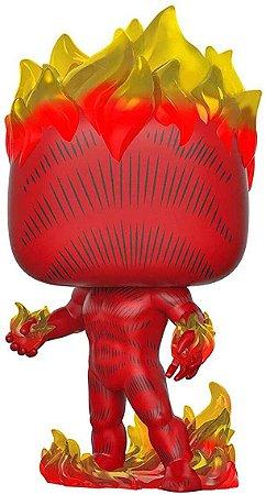 The Original Human Torch (Tocha Humana) - 501 - 80 Years Marvel - Pop Funko