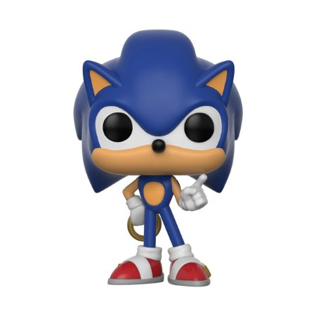 Sonic With Ring - 283 - Sonic - Pop Funko