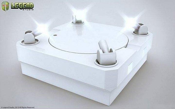 Master Light Revolving (White) - Display Stage