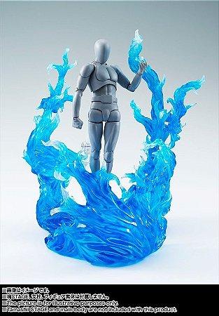 Tamashii Effect Burning Flame Blue - Display