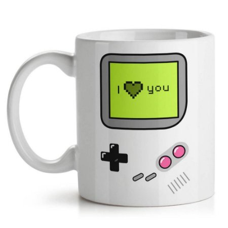 Caneca Game I Love You - Yaay