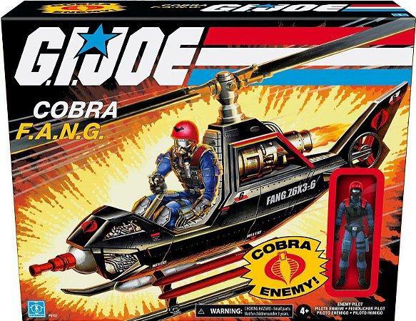 Veículo Retrô Piloto Inimigo - Cobra FANG - GI Joe - F0757