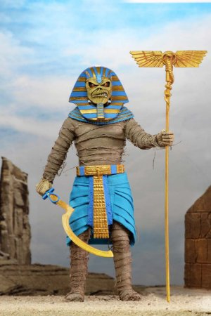 "Eddie Pharaoh 8"" - Iron Maiden - Powerslave Album - Neca"