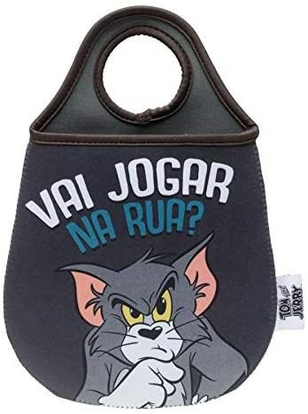 Lixeira Carro Neoprene - Tom e Jerry - 20x0,02x29cm - Urban