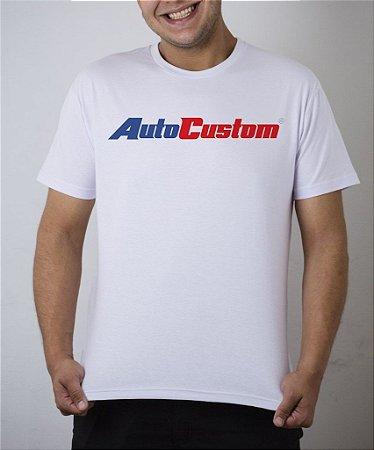 Camiseta branca AutoCustom