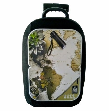 Capa para mala Star Bags Mapa