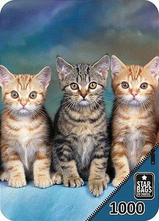 Capa para mala Star Bags Trio de gatos