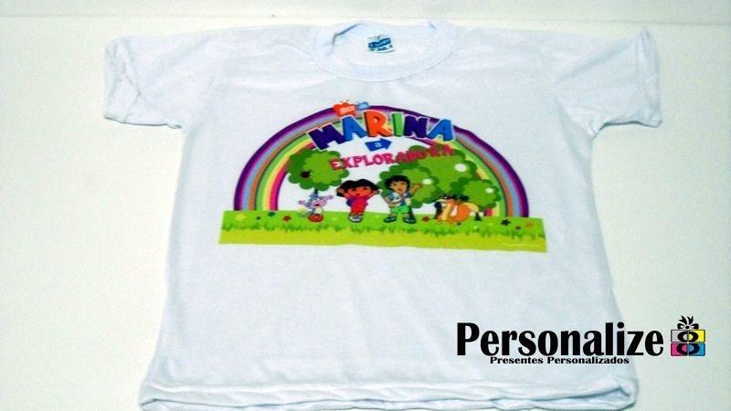 Camisa Infantil - Malha PP