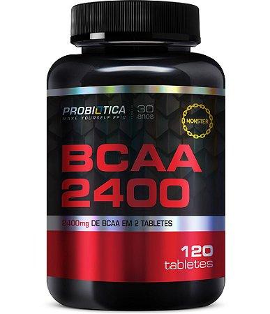 Bcaa 2400 mg (120 tabs) Probiótica