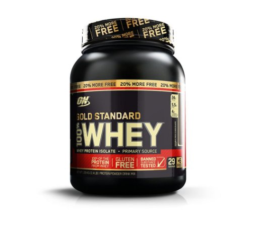 100% Whey Gold Standard 20% Free 1090g -Optimum Nutrition