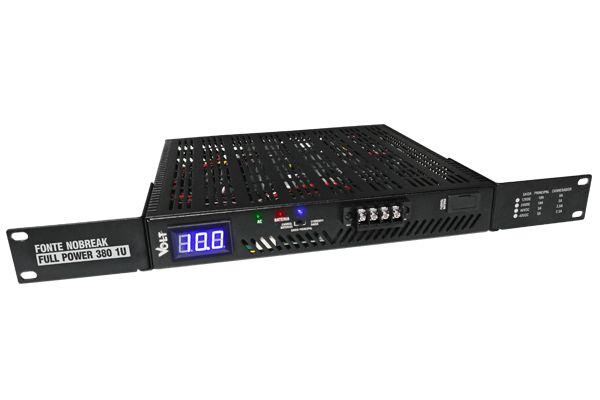 Fonte NoBreak Full Power 380 1U 24V Gerenciável - Evolution